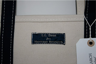 heritage research ll bean ice tote 02 A Classic: The Canvas Tote