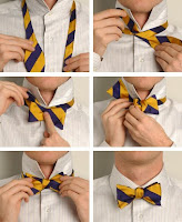 How+To+Tie+a+Bow+Tie From The OTC Archives: Bow Ties