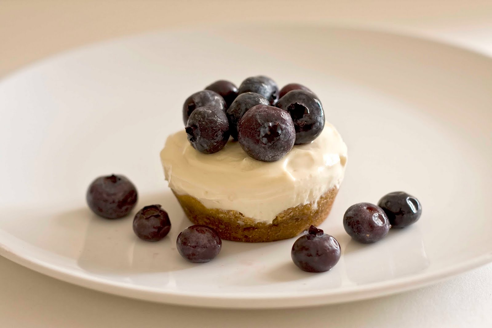 Muffin Tin Mania: Blueberry Tartlets with Walnut Crust