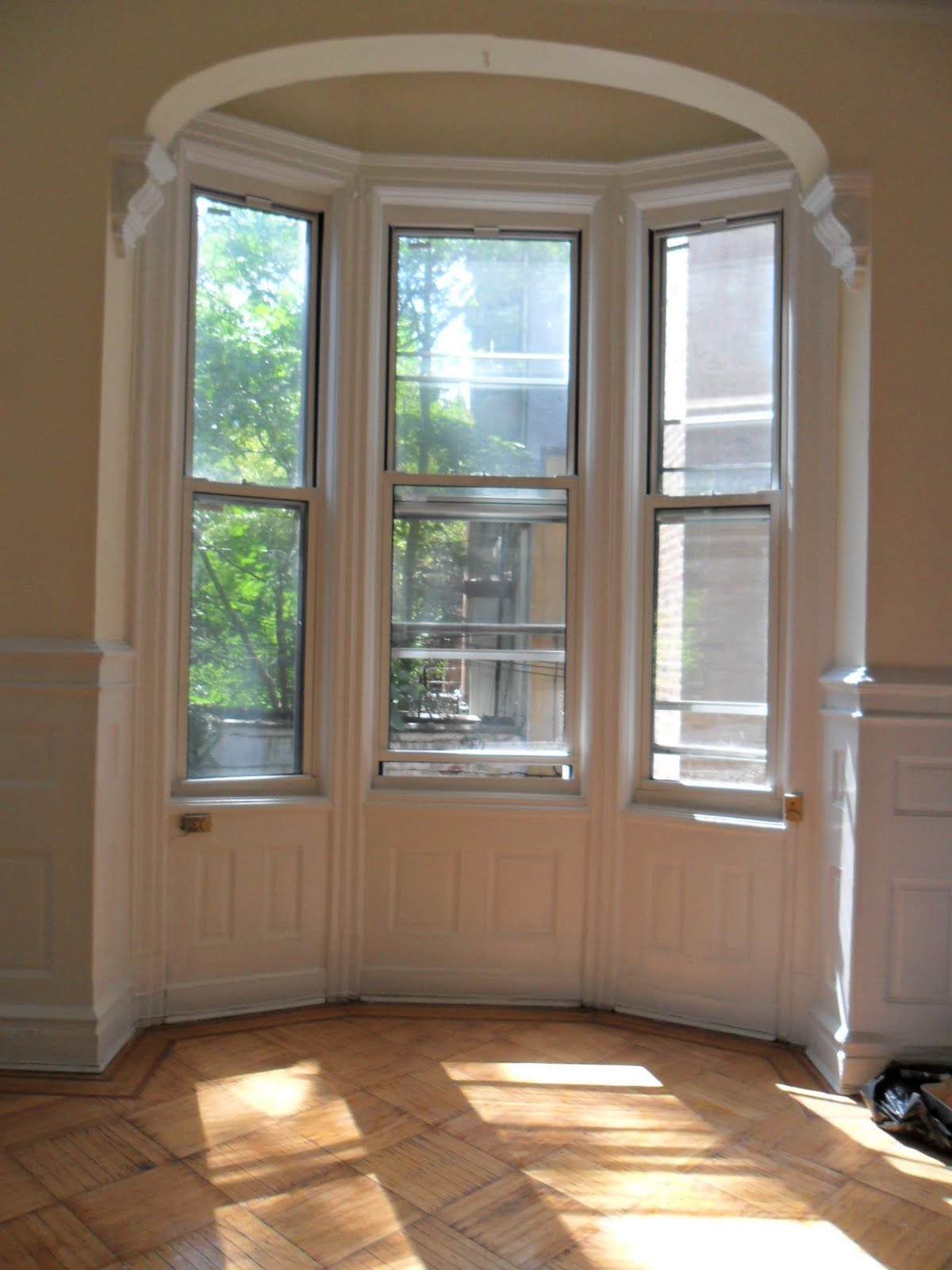 Bedroom with Bay Window