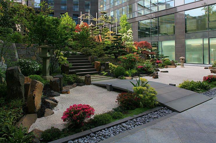 ideias de jardim japones : ideias de jardim japones:daqui do meu quintal: jardins japoneses