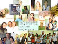 Colóquio: Diálogos com a comunidade - conhecendo o CETEP Irecê