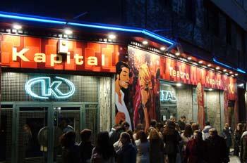 De lo dicho a lo hecho kapital como discoteca en madrid for Sala kapital madrid