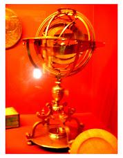 Esfera Armilar - Peça das Colecções do Hermitage - Arte e Cultura do Império Russo