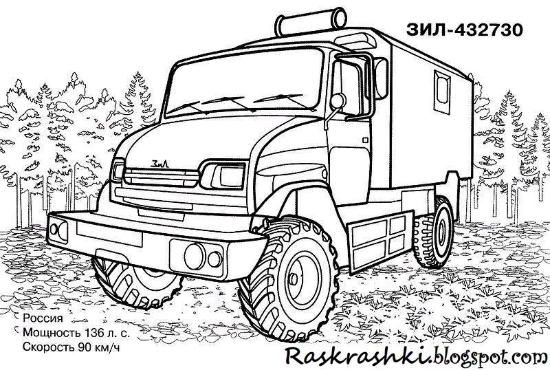 Картинки Грузовых Автомобилей Черно Белые