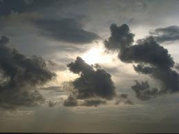 Grey sky Morning
