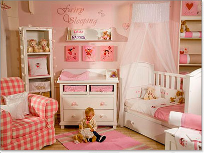 3 little Miracles: More baby girl Nursery Inspirations
