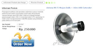 Antena WiFi Wajan Bolik - Alnect Komputer