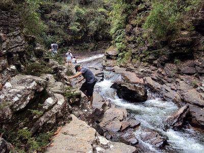 carrancas minas gerais mg viajando sem frescura deixa brasil trilha chegar cachoeira dos anjos