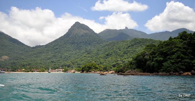 brasil angra dos reis rj ilha grande pico do papagaio trilha