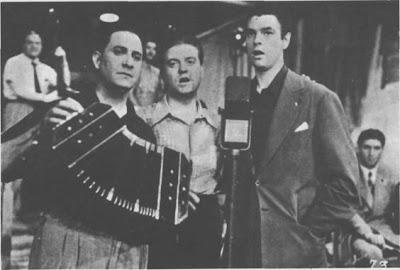 Domingo Federico con Carlos Vidal y Oscar Larroca