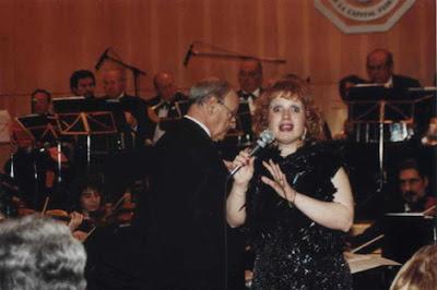 Susana Mir con la Orquesta de Juan de Dios Filiberto