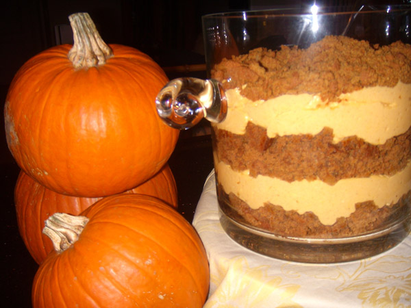 Simple Pumpkin Cheesecake Trifles Recipes — Dishmaps