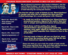 Blood Brothers Auction to help Haiti.