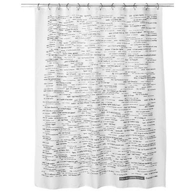 EDUCATIONAL SHOWER CURTAINS Curtains Amp Blinds