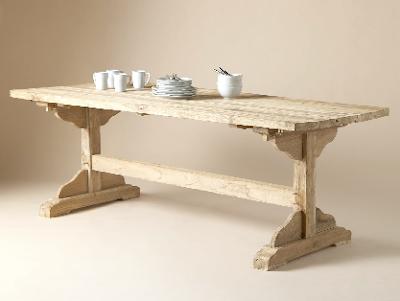 Restoration Hardware Flatiron Dining Table Review