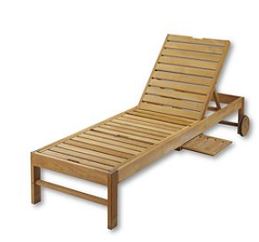 Wood outdoor chaise lounger copycatchic for Chaise youtubeur