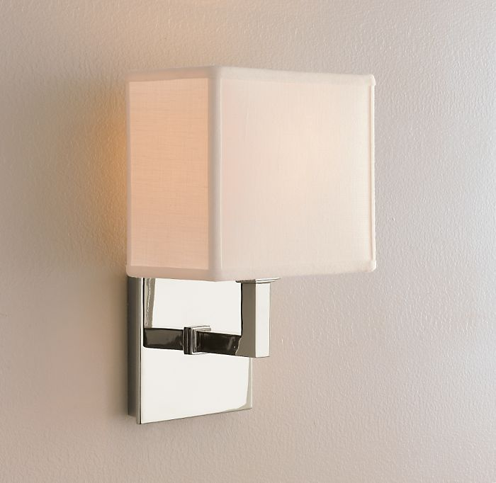 Bathroom Wall Sconces Restoration Hardware : Copy Cat Chic: Restoration Hardware Nolan Sconce