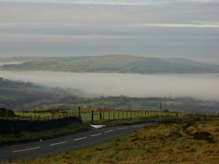 Cloud Inversion over the Etherow Valley
