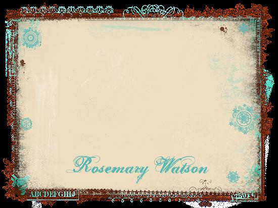 Rosemary Watson & Family