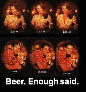 beer goggles
