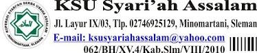 KSU SYARI'AH ASSALAM, Minomartani, Sleman.