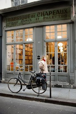 Libreria antigua en Paris
