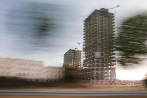 edificios en obras