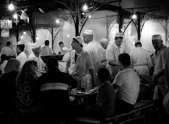 plaza Djemaa el Fna en Marrakesh
