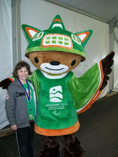 Sumi, the 2010 paralympic mascot