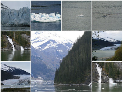 Alaska glacier mosaic