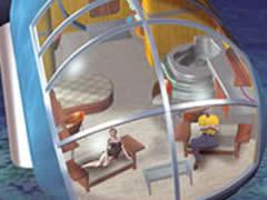 Conshelf, el sueño submarino de Cousteau, tenía la intención de albergar ahí a una nueva especie humana
