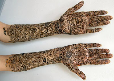 simple Indian mehndi patterns