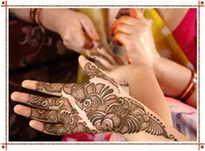 simple Pakistani mehndi patterns