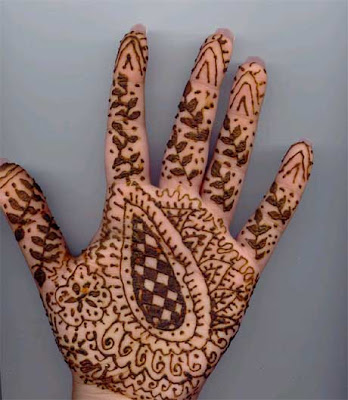 Indian bridal mehndi patterns