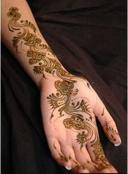 simple mehndi designs for children