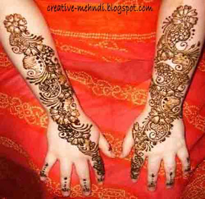 mehndi designs for hands arabic