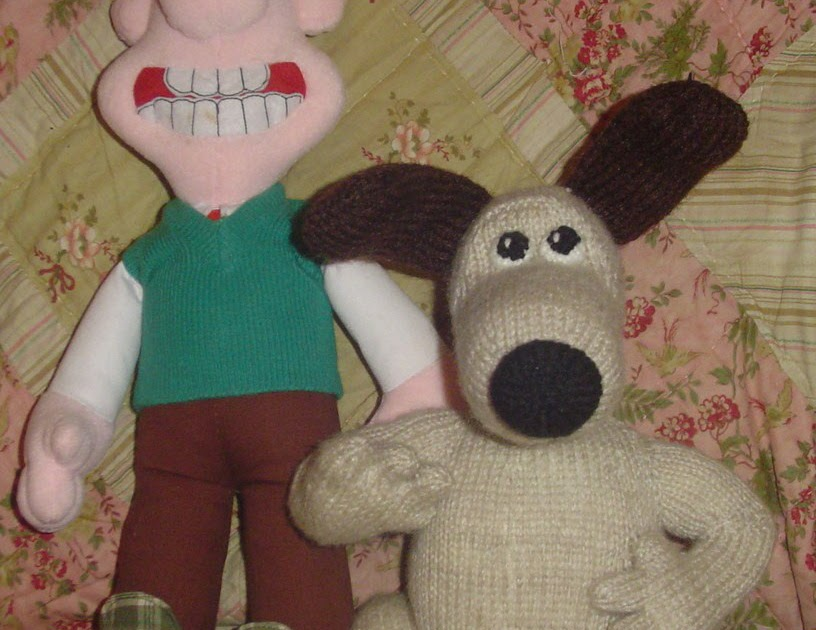 Wallace And Gromit Knitting Pattern : Crafting with dogs: Wallace and Grommit