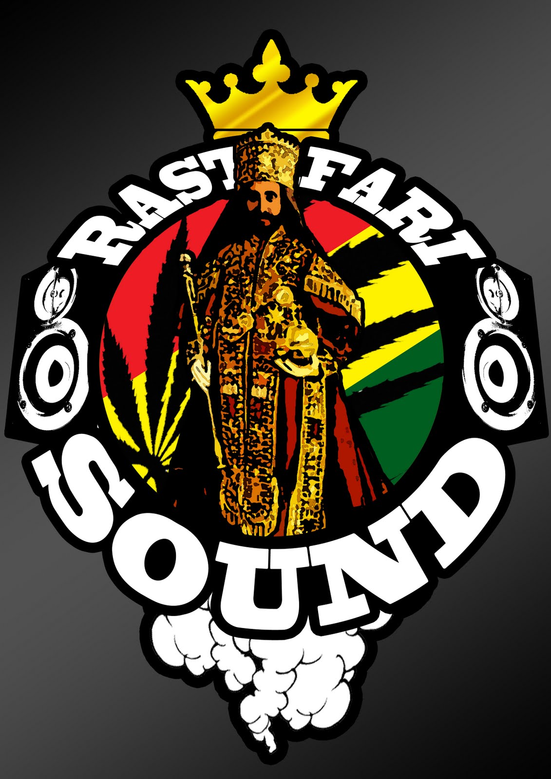 Rastafari sound sticker