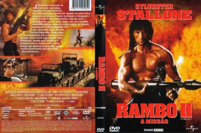 Capa do Filme Rambo II