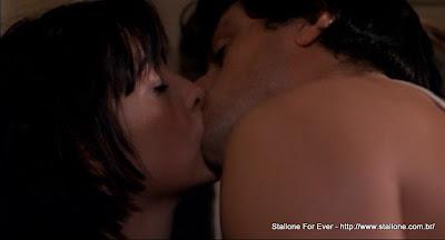 Rocky beijando a Adrian