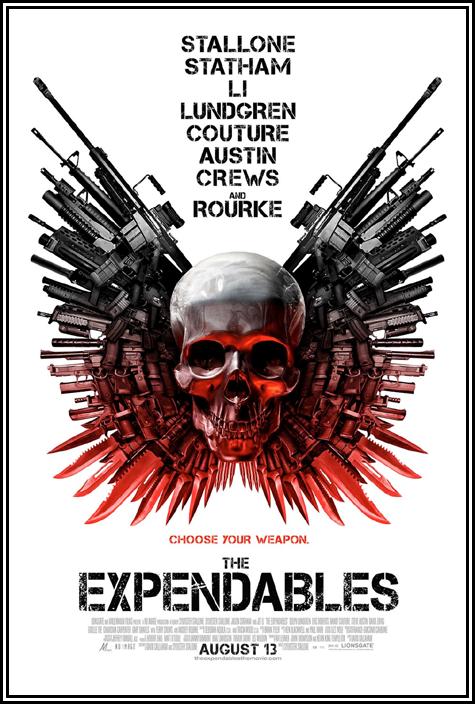 Poster Oficial de Os Mercenarios
