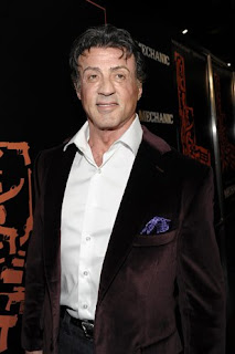 Sylvester Stallone na Premier de The Mechanic