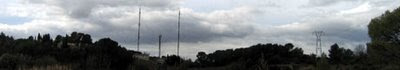antennes nuages clouds