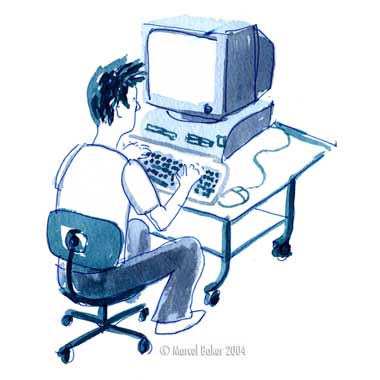 Komputer yang merupakan salah satu wahana telekomunikasi yang canggih