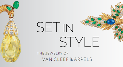 everything just so set in style the jewelry of van cleef
