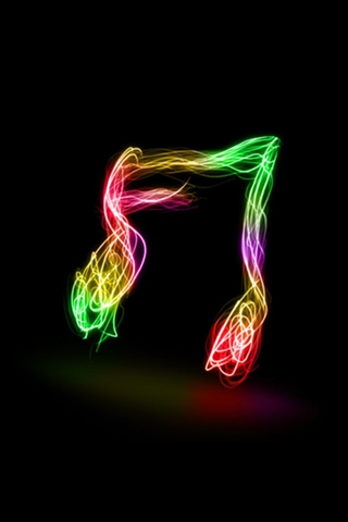 IPhone Colorful Music Note Free Stuff Wallpapers