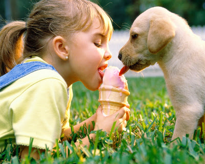 HQ Childrense icecreame dog PC Mobile wallpapers