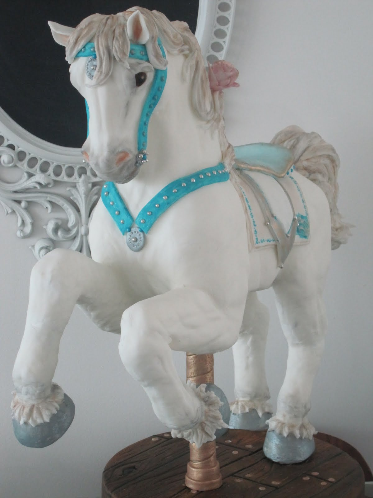 The Wicked Little Cake Company Carousel Horse