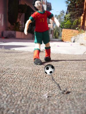 Cristiano Ronaldo doll 1
